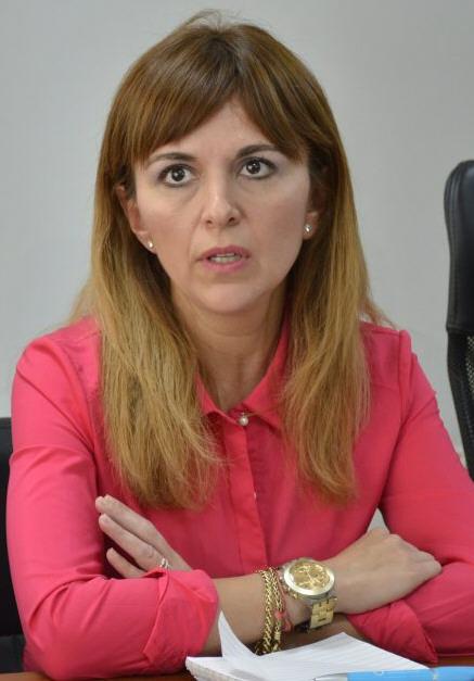 """La ministra de Producción de Santa Cruz Silvina Córdoba dijo que """"la minería es un motor fundamental y por eso fue importantísimo que fuese una de las primeras en reactivarse""""."""