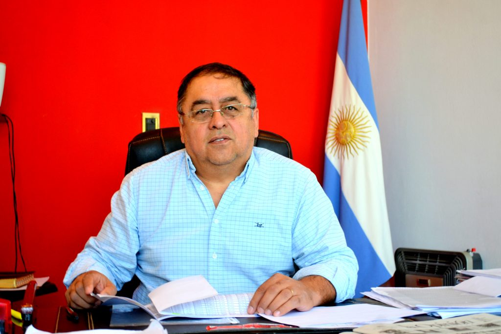 Omar Fernández, ex intendente de Pico Truncado