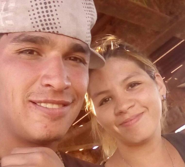Natasha estaba en pareja con Martín Luna, quien estaba en el lugar del incendio cuando llegaron los bomberos. Foto Facebook