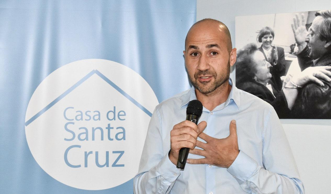Andrés La Blunda, director de Casa de Santa Cruz en Buenos Aires dio detalles de todo lo realizado a La Opinión Austral.