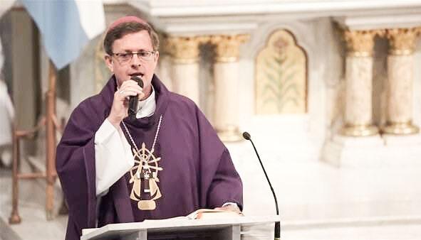 El obispo Jorge García Cuerva