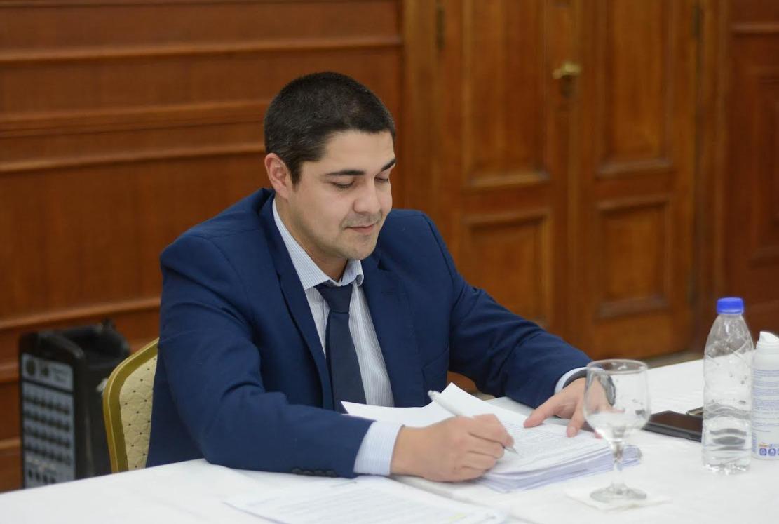 El ministro de Seguridad, Lisandro de la Torre también participó de la reunión. FOTO: GOBIERNO