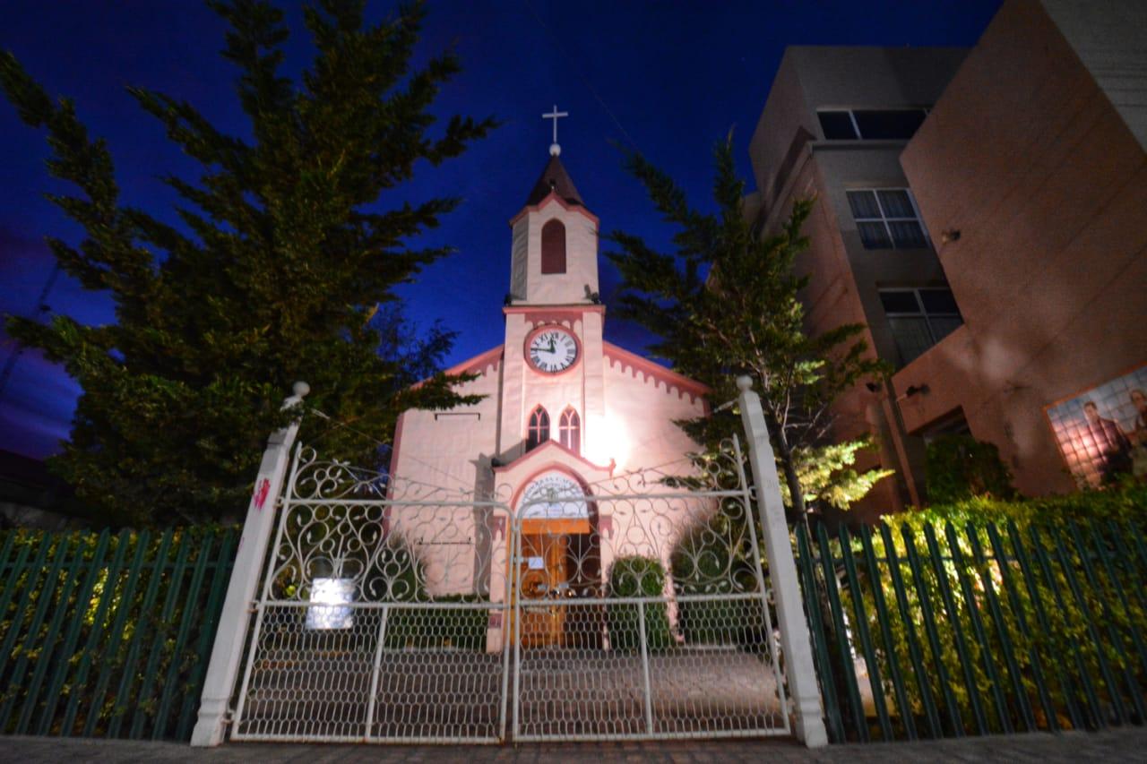 Catedral de Río Gallegos. FOTO: JOSÉ SILVA