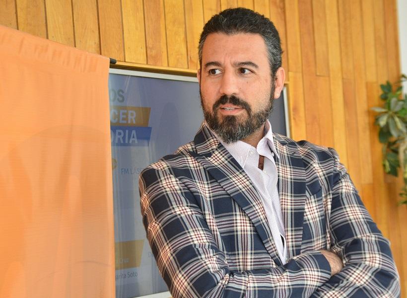 Diego Robles, secretario de Hacienda del Municipio de Río Gallegos.