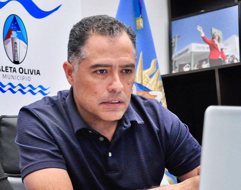 Eugenio Quiroga: vicegobernador de Santa Cruz.