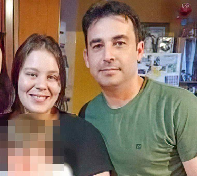 TENÍAN UN HIJO. La pareja llevaba 15 años, con un bebé de 2.