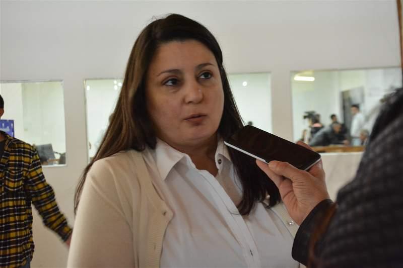Carolina Neil, presidenta de la Comercio, Industria y Afines de Río Gallegos.