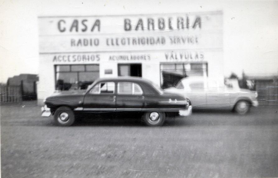 Edificio Original de Casa Barbería. FOTO GENTILEZA JULIO BELTRÁN