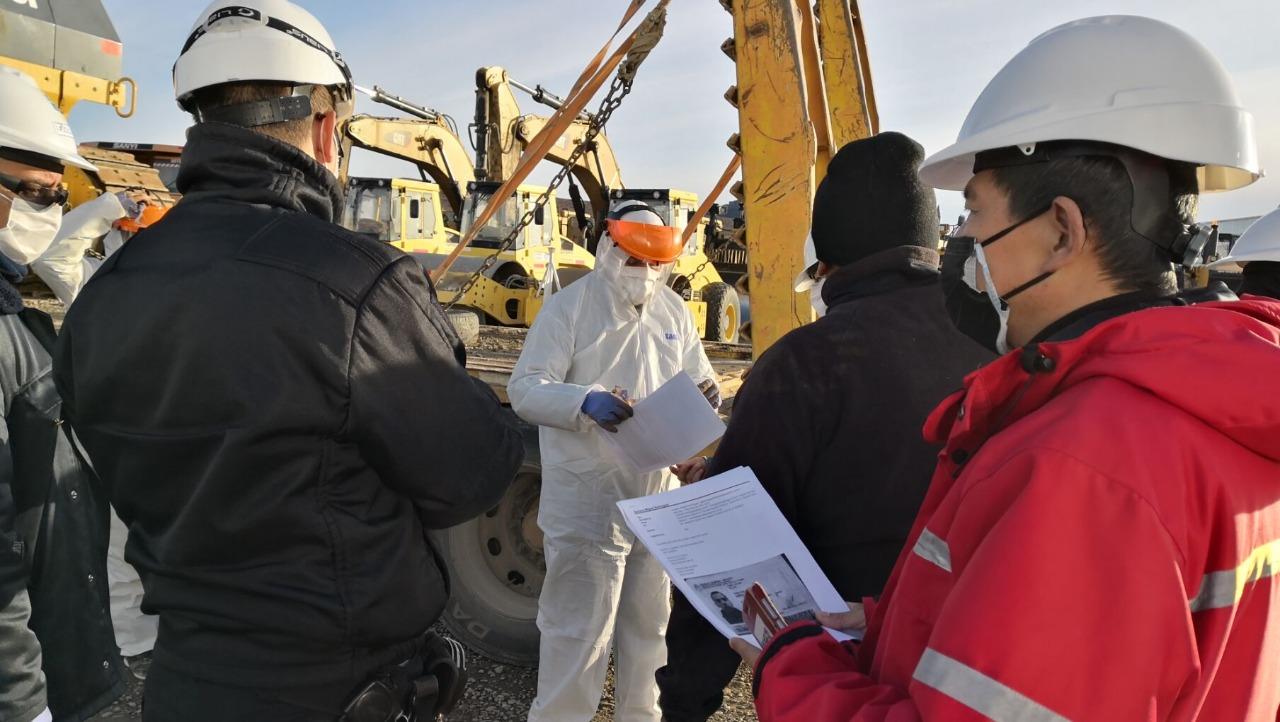 El equipo será utilizado durante 90 días en el vaciadero municipal