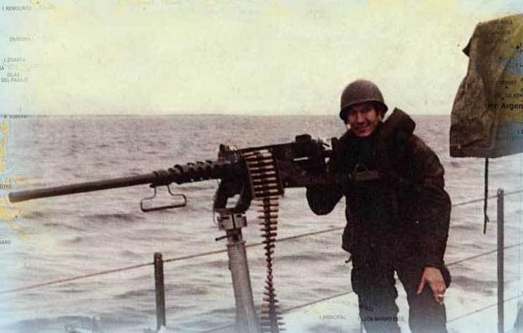 Browning M2, la ametralladora con la que atacaron a los ingleses