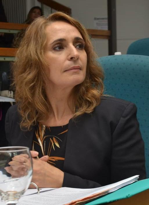 Nadia Ricci: diputada de Santa Cruz.