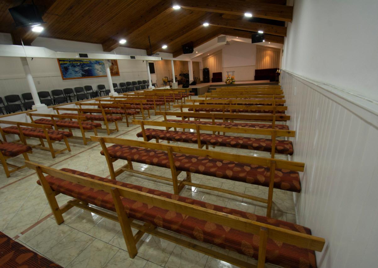 Sin feligreses, las iglesias están vacías desde el inicio de la cuarentena. FOTO: ARCHIVO