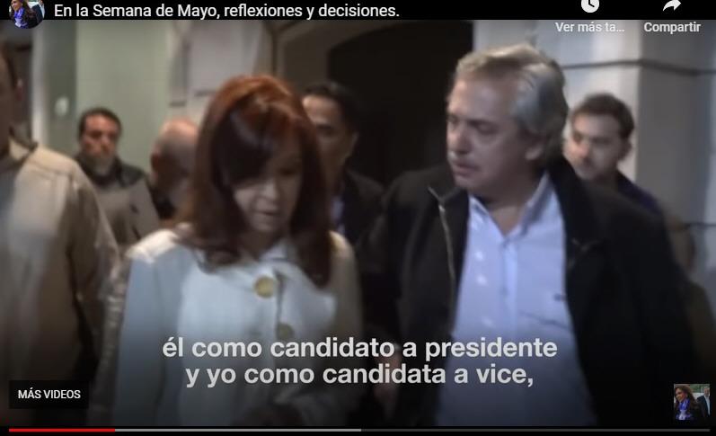 Cristina y Alberto ganaron con más del 47 % de los votos.