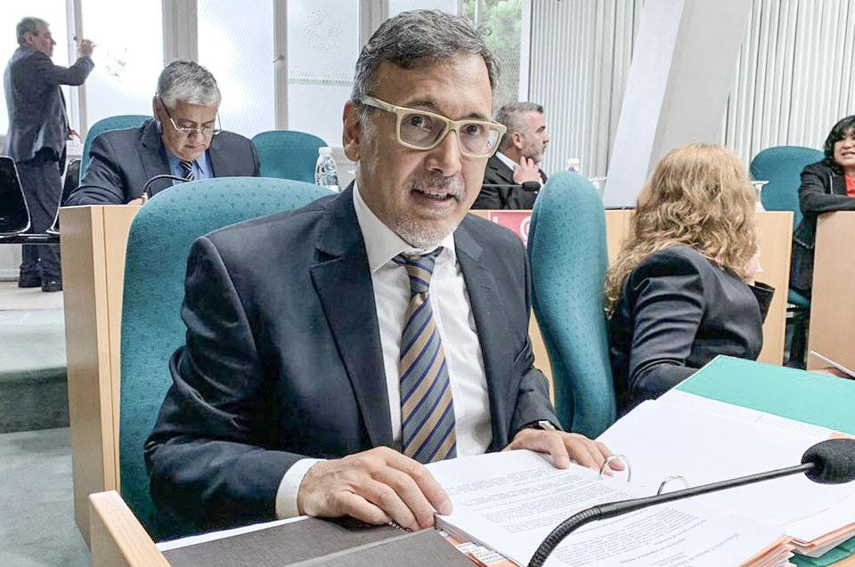 Javier Pérez Gallart, diputado provincial.