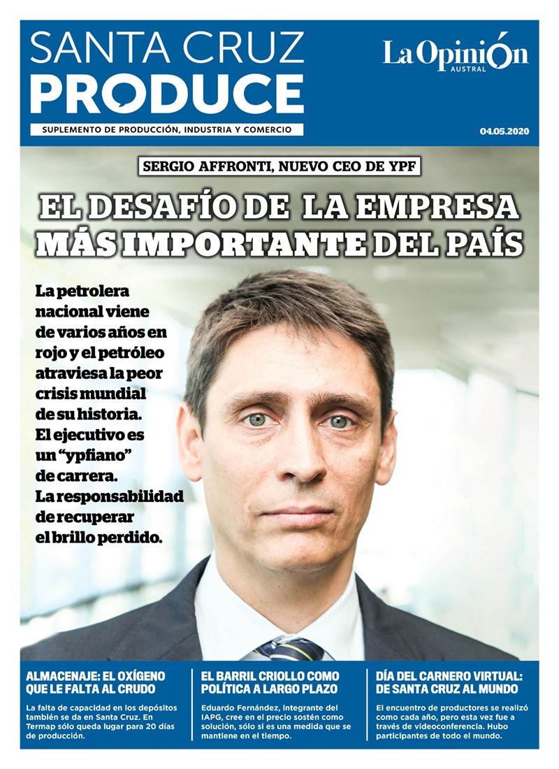 Sergio Afrontti, nuevo CEO de YPF, llega a la petrolera argentina en medio de la crisis mundial