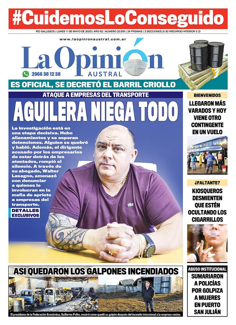 Empresarios acusan a Rubén Aguilera y su abogado lo defendió.