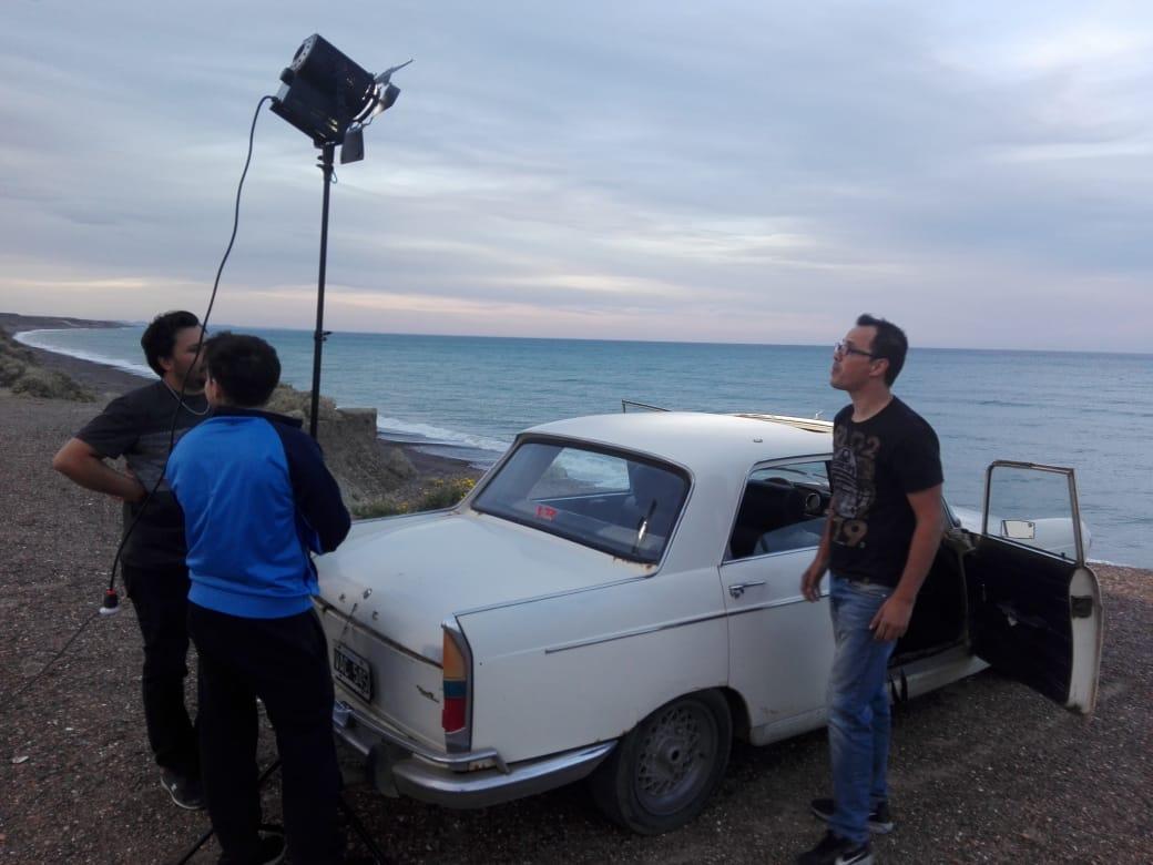 La mayoría de las locaciones del documental están ubicadas en la ciudad de Caleta Olivia y en las costas cercanas. Foto: Marcelo Romero.