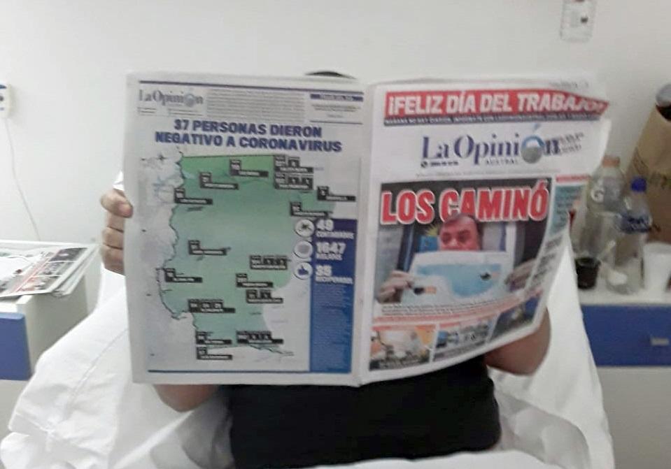 El paciente que estuvo internado 38 días, ya fue dado de alta. FOTO ARCHIVO LOA