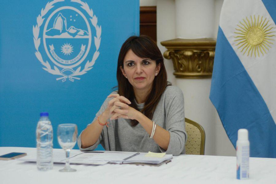 Ministra de Comercio, Producción e Industria, Silvina Córdoba.