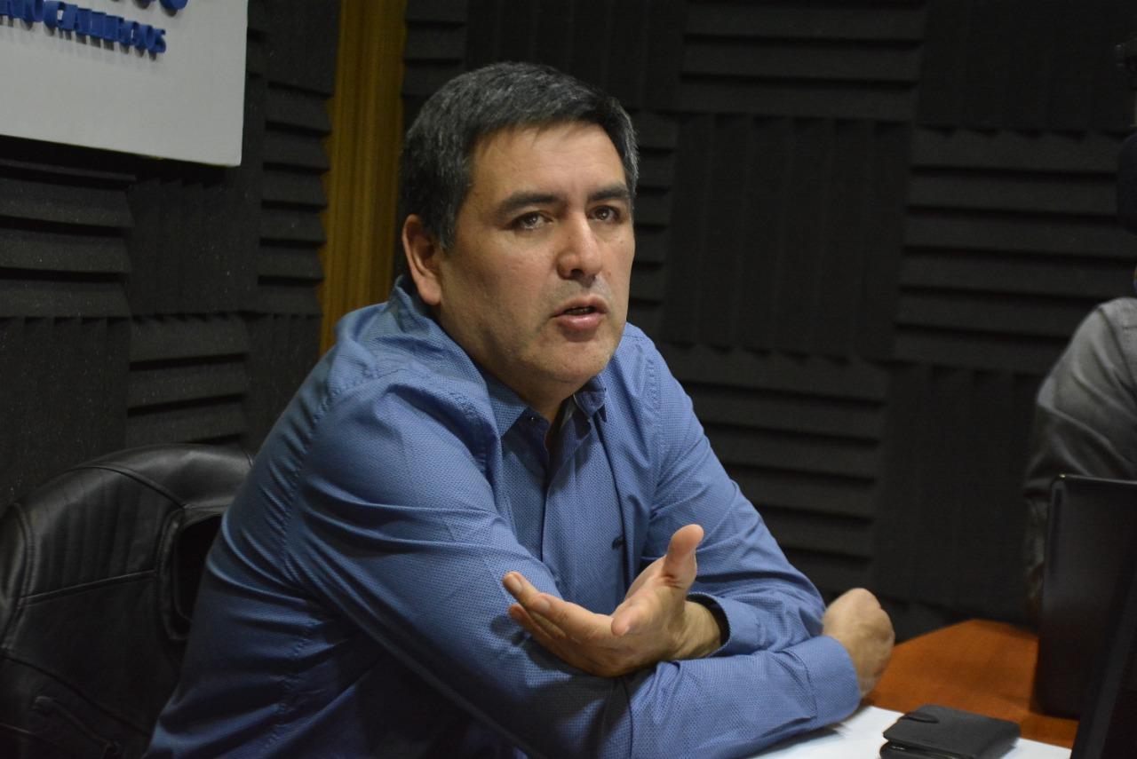 Javier Castro, Secretario General de AOMA Seccional Santa Cruz. (FOTOS: JOSÉ SILVA).
