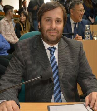 Daniel Roquel, diputado provincial.