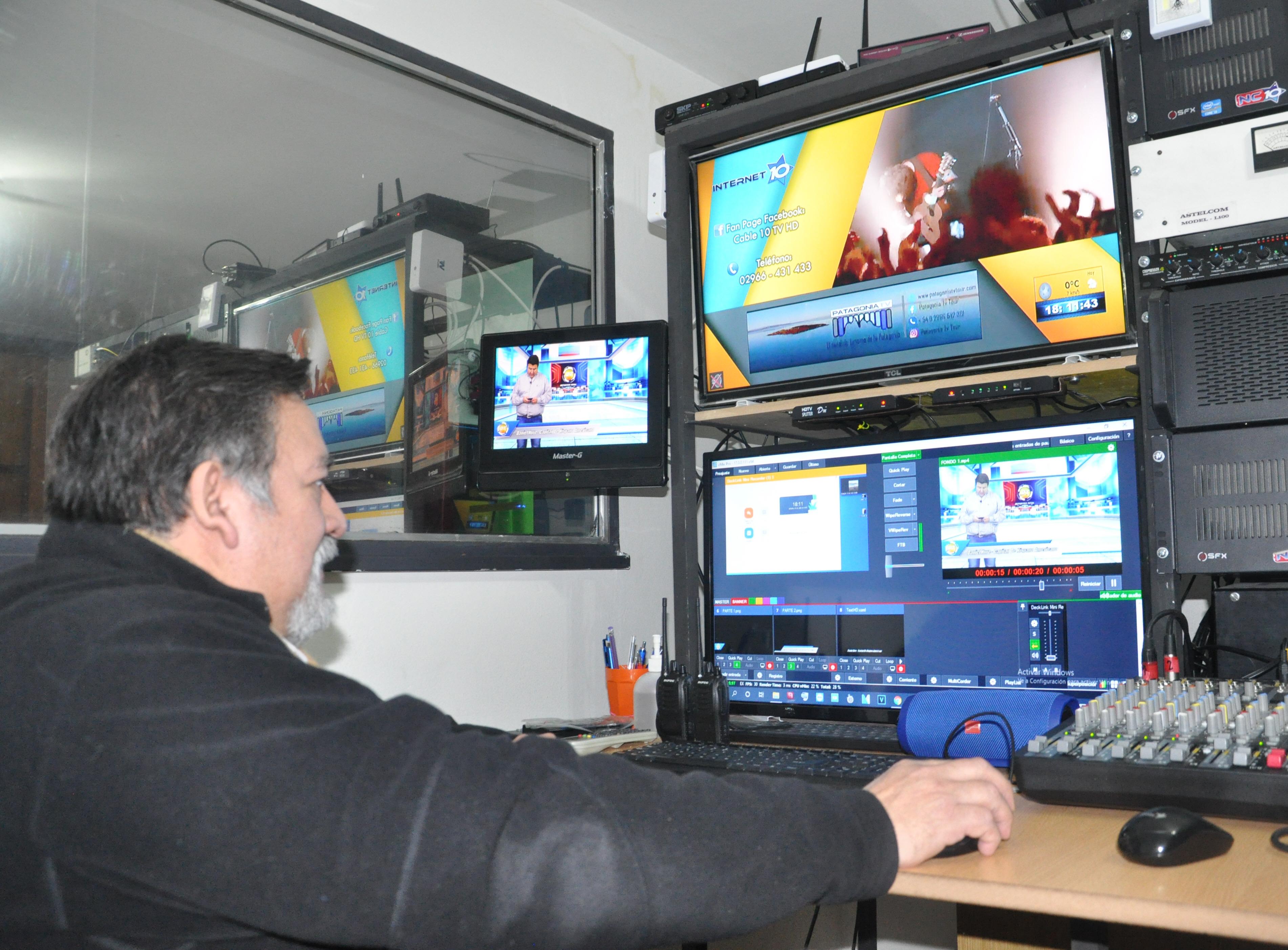 Francisco Soria: director general de Patagonia TV.