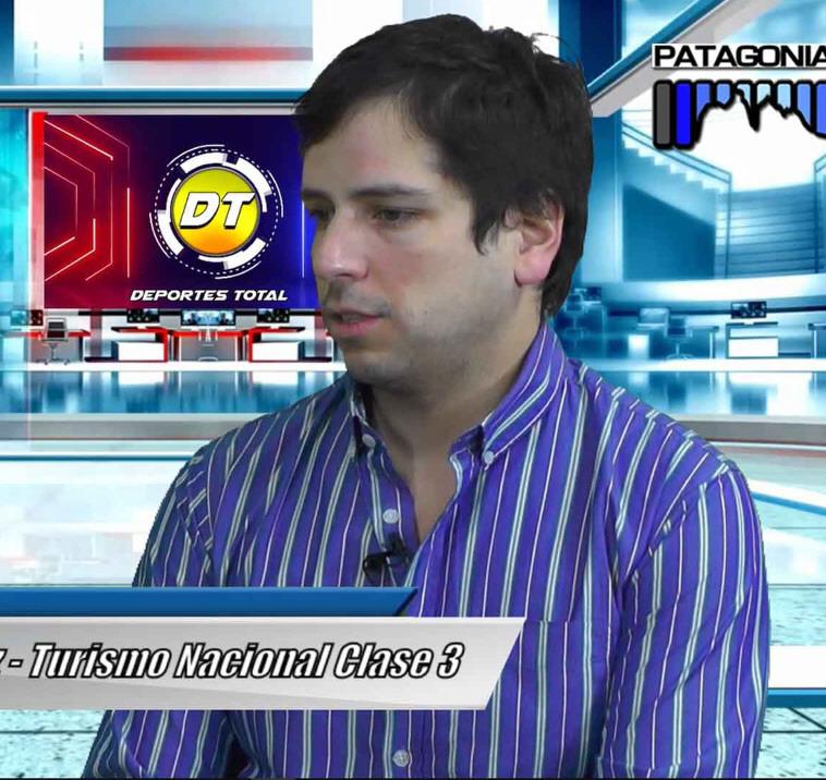 Sebastián Gómez. FOTO: PATAGONIA TV