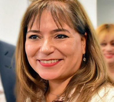 Angélica Zari, jueza destituida.