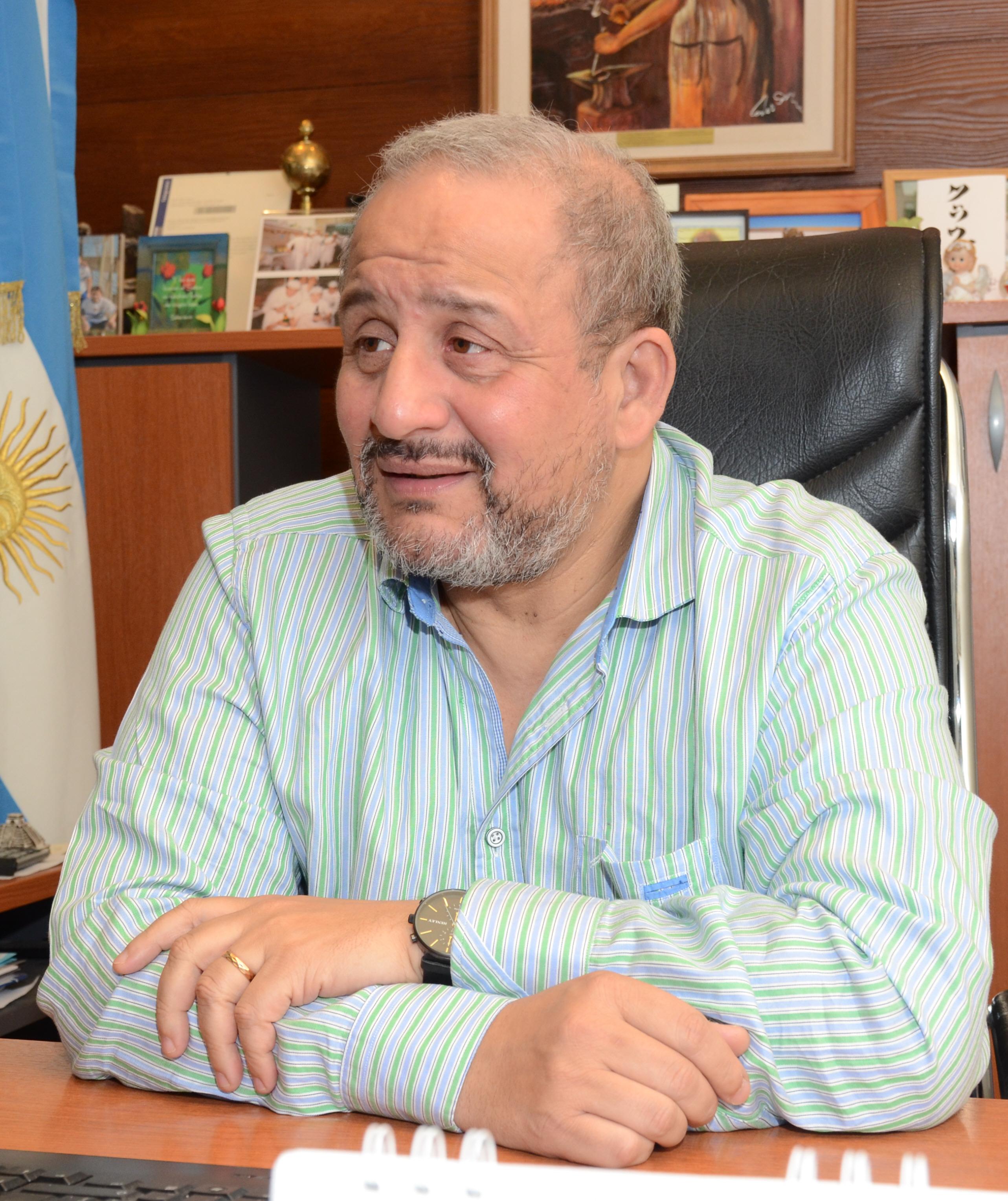 Claudio Silva, del Sindicato de Comercio.