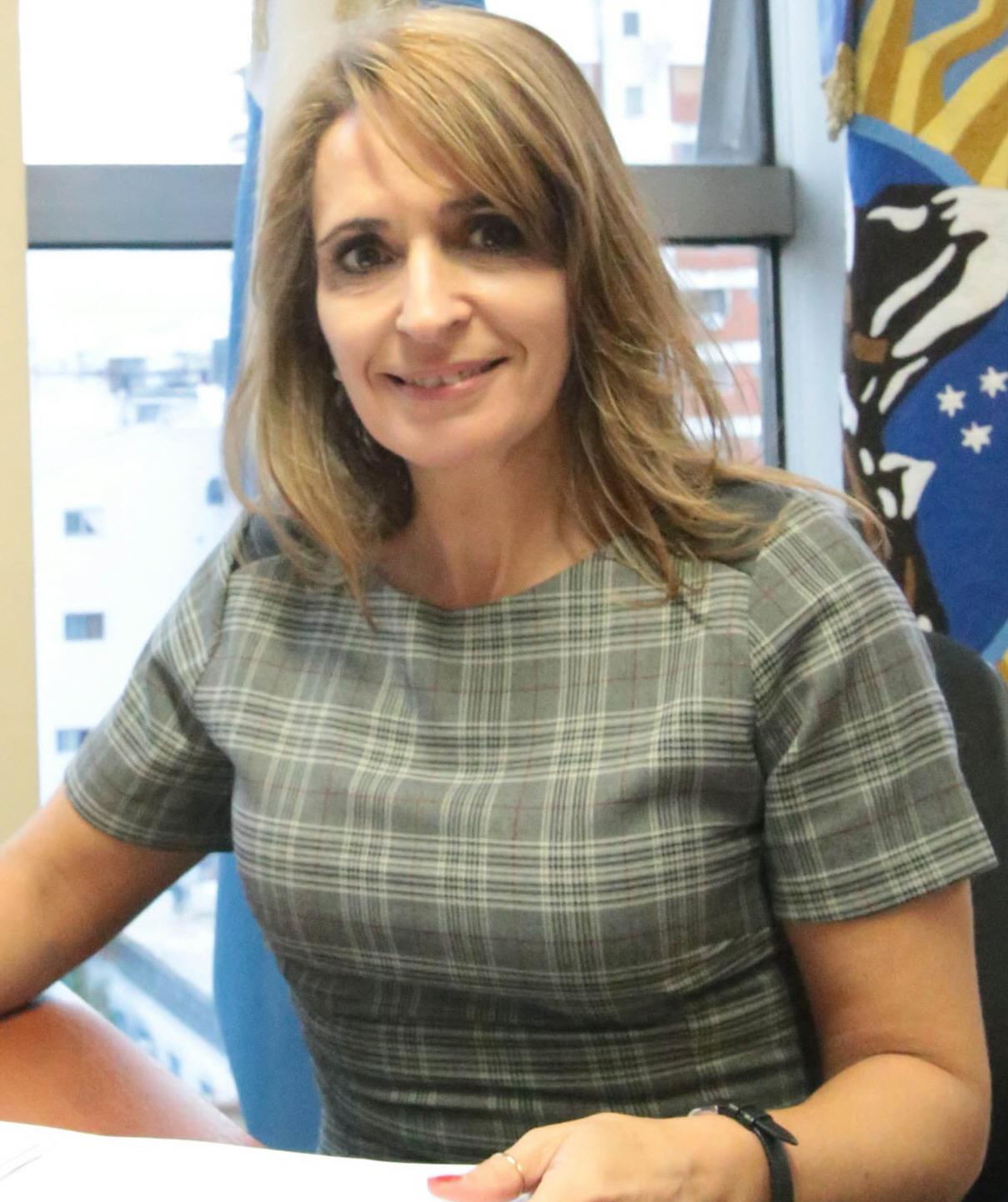 Nadia Ricci, legisladora provincial por el radicalismo.