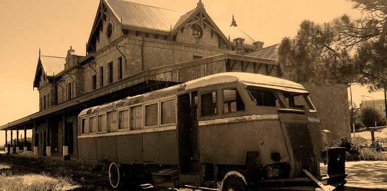 El ferrocarril que unía Deseado con Las Heras