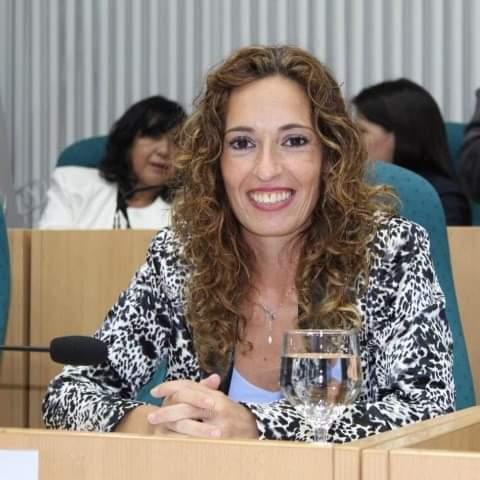 Rocío García, diputada provincial.