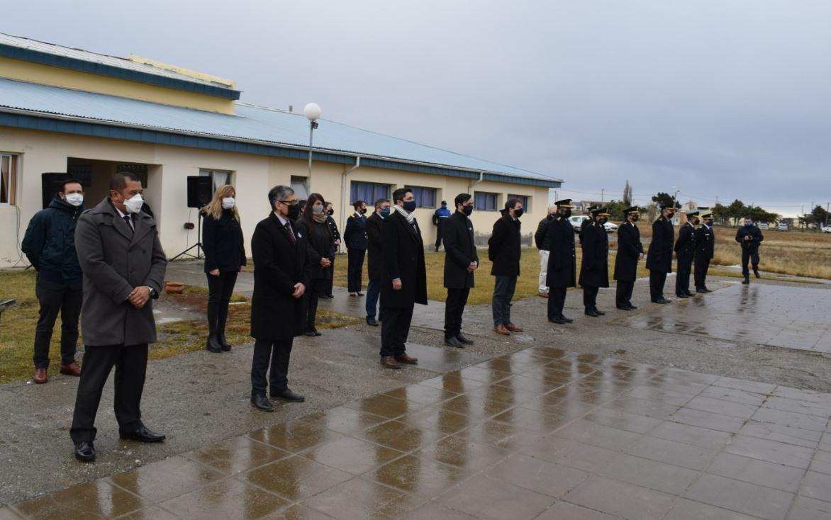 Estuvieron presentes autoridades provinciales y municipales.