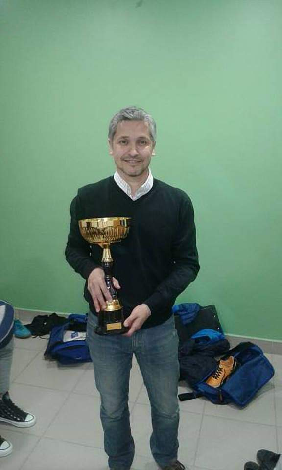 Rafael Romero, entrenador de fútbol de salón.