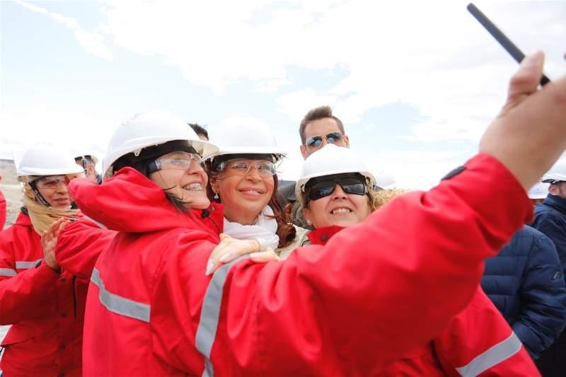 La visita de Cristina Fernández de Kirchner a las represas fue a poco más de una mes de asumir la vicepresidencia de la Nación.