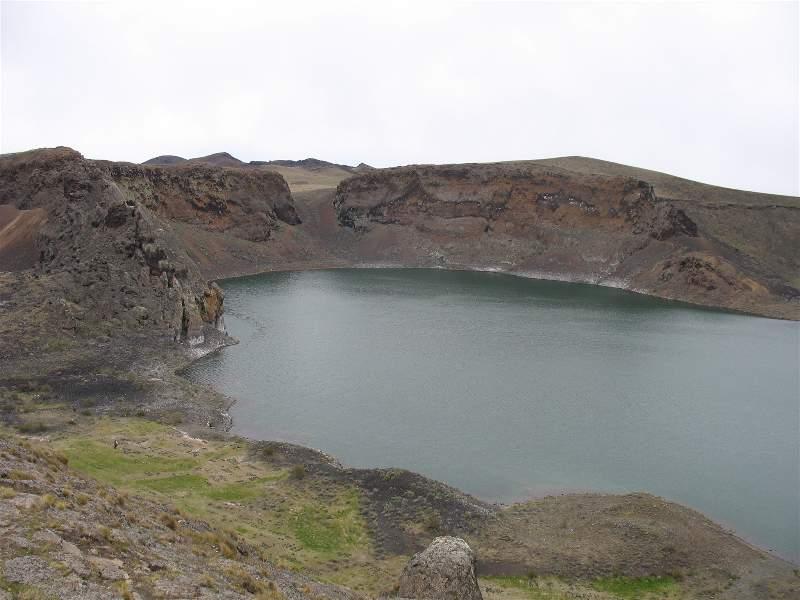 Laguna Azul, una de las atracciones naturales más cercanas a Río Gallegos.