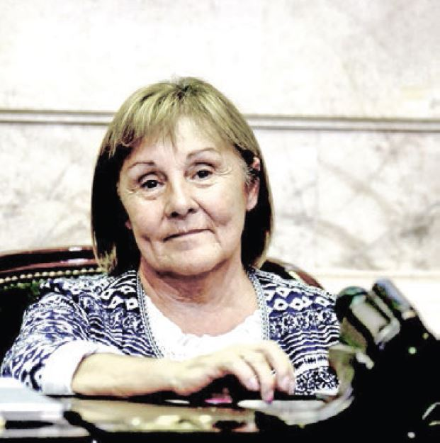 Mabel Caparros, diputados nacional.