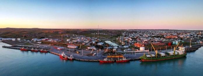 Puerto Deseado, la ciudad que lo vio crecer