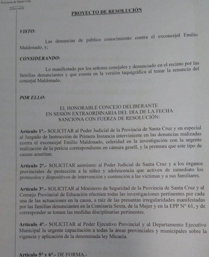 El proyecto fue presentado por la oposición y luego consensuado con el oficialismo.