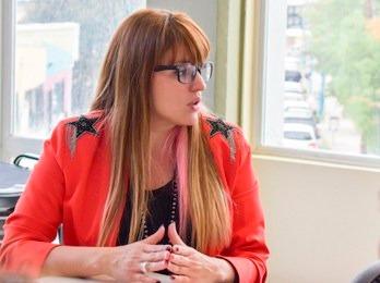 Noelia Trentino Martire, secretaria de la Mujer de la Municipalidad de Ushuaia.