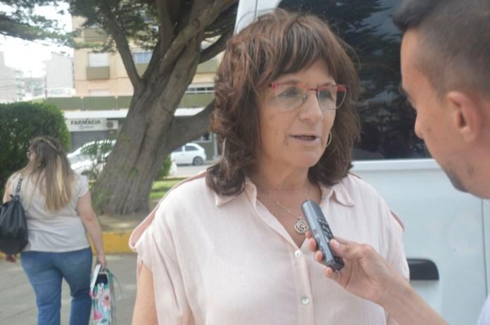Liliana Peralta, secretaria de Cultura de Comodoro Rivadavia. FOTO: Crónica