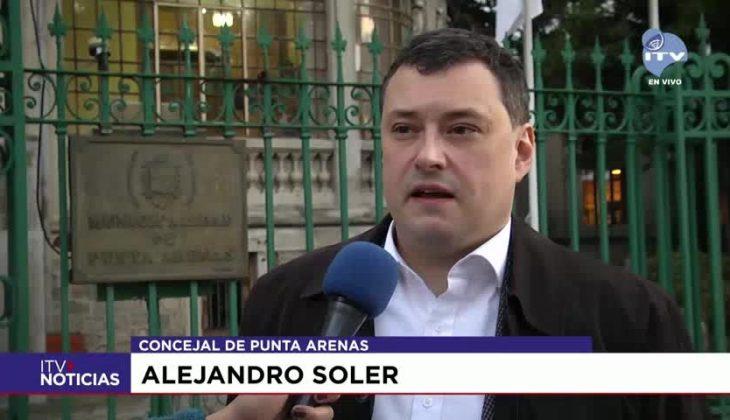 Alejandro Soler - Concejal de Punta Arenas
