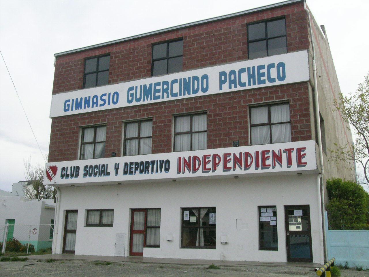 Sede de Independiente.