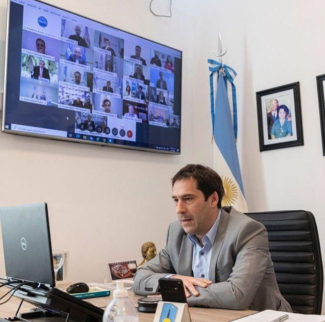 """Juan Pablo Luque:""""Una obra postergada que los comodorenses merecemos""""."""