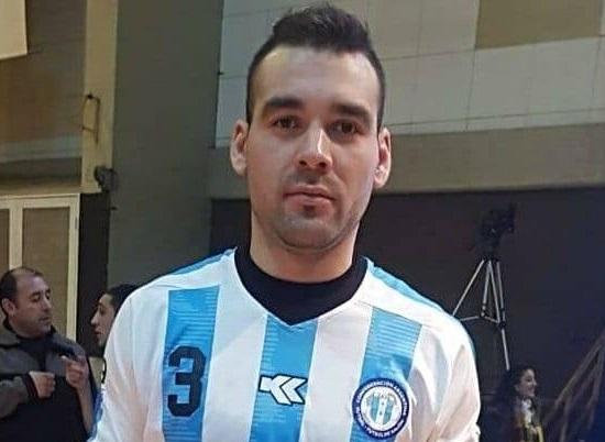 """Leonardo """"El chacal"""" Fernández, jugador de cancha grande y ex integrante de la selección argentina de futsal"""