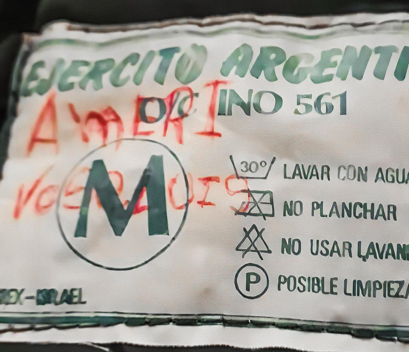 'Ejército Argentino'