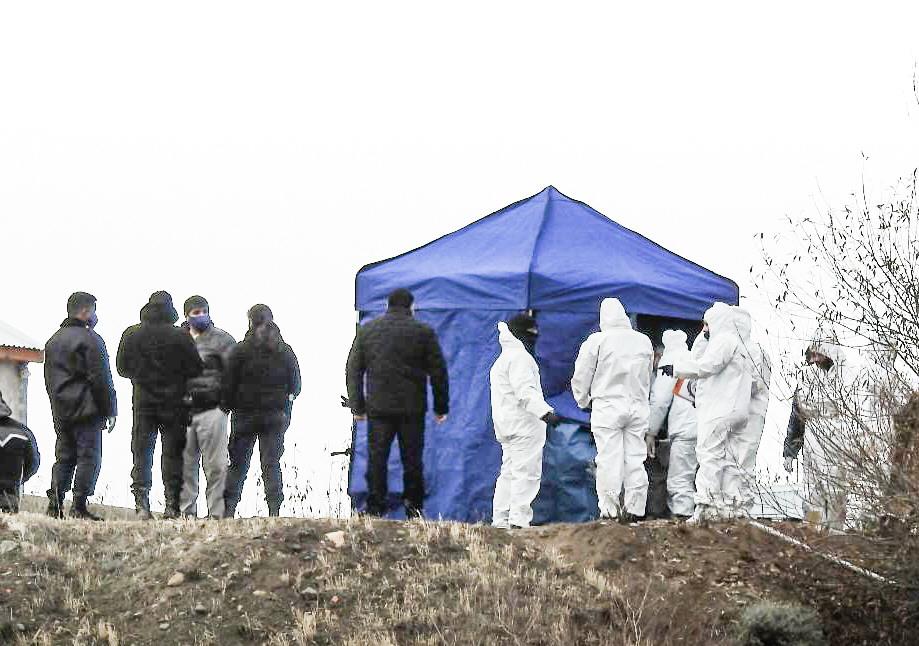 El cuerpo de Gutiérrez fue encontrado enterrado.