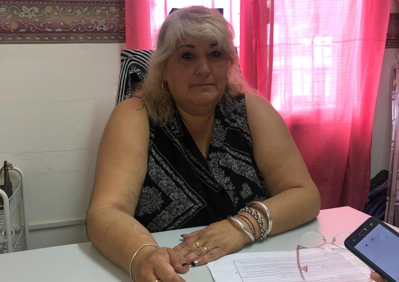 Directora de Mantenimiento Escolar, Silvana Aybar. FOTO: ARCHIVO