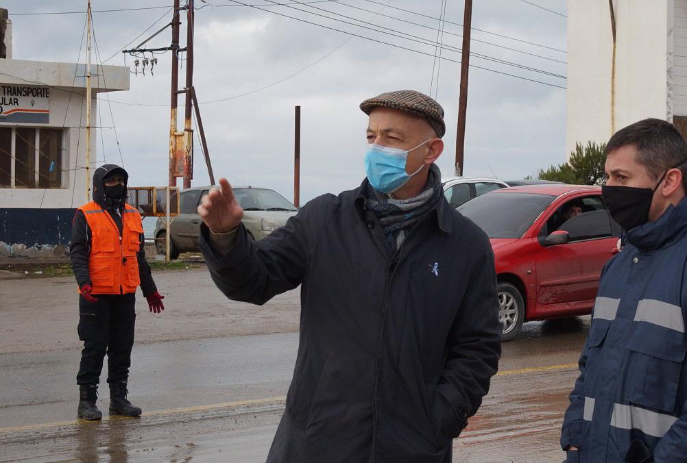 El intendente Fernando Cotillo consideró que el accionar de la empresa petrolera es 'socialmente reprochable'.