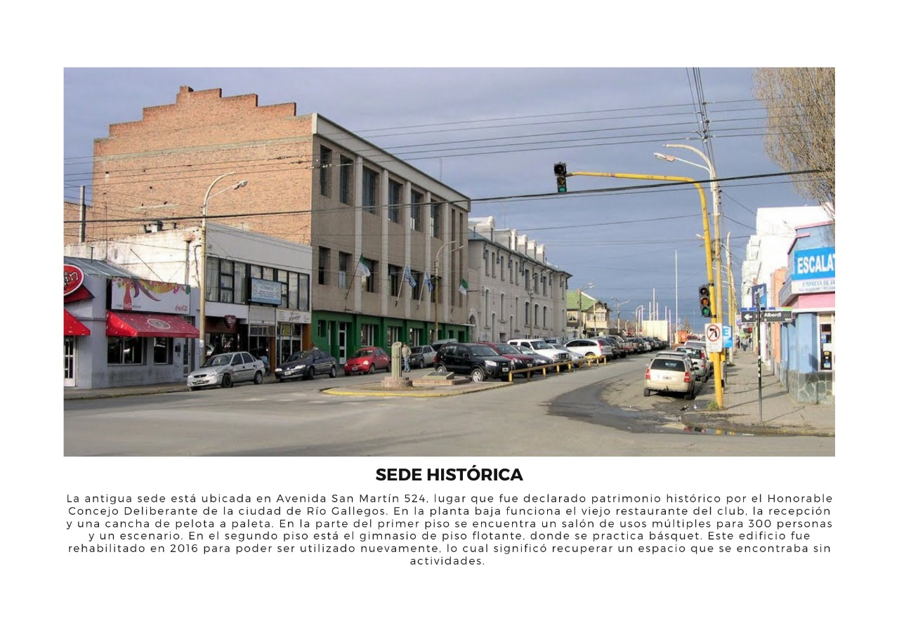 Material exclusivo de La Opinión Austral: sede de la Avenida San Martín de Boxing Club.